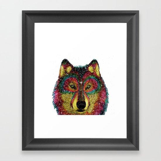 MoonWolf  Framed Art Print