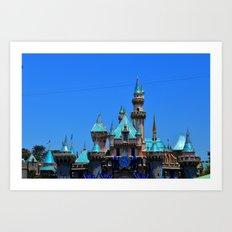 Disneyland. Art Print