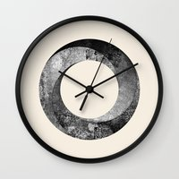 infinite Wall Clocks featuring Infinite by Repulp