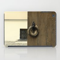 door iPad Cases featuring door by Asya Bagdasaryan