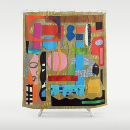 Undercurrent Shower Curtain