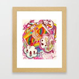 Welcome to the Disco Framed Art Print
