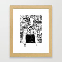Dairy Cow Framed Art Print
