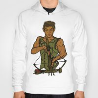 daryl Hoodies featuring Daryl by Aqua Ink Graphics