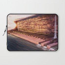 Piano Accord in Sea minor Laptop Sleeve