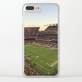 Kyle Field Clear iPhone Case