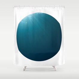 Under Water 7 Shower Curtain