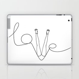 Man & LoveMe Laptop & iPad Skin