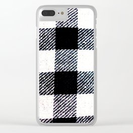 Stride and square Clear iPhone Case