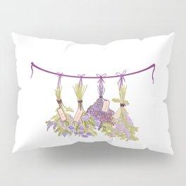 Herbs in Pastel Color #Unique Pillow Sham