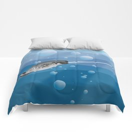 Gnarly Narwhal Comforters
