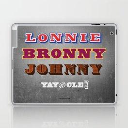 Lonnie, Bronny, Johnny Laptop & iPad Skin
