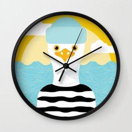 Jason Seagull Wall Clock