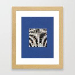 Osaka Stripe Framed Art Print