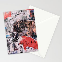 Basquiat Style Stationery Cards