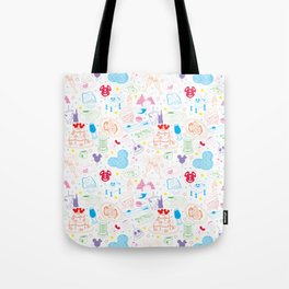 Tasting the Magic - White Tote Bag