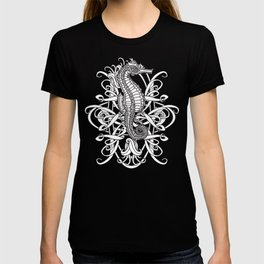 Seahorse and Curlicues T-shirt