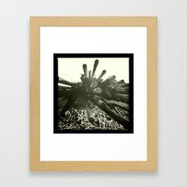rust / rouille Framed Art Print