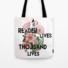 A Reader Tote Bag