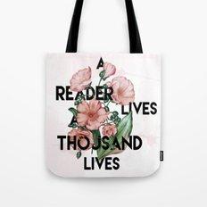A Reader Tote Bag