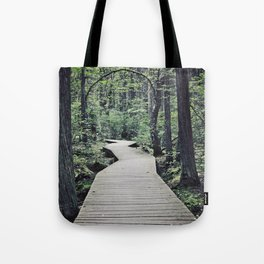 Boardwalk with natural arch Tote Bag