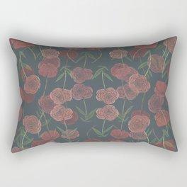 CONTINUOUS FLORAL Rectangular Pillow