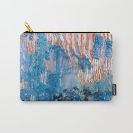 Frederick Childe Hassam -The Avenue In The Rain Frederick Childe Hassam - Digital Remastered Edition Carry-All Pouch