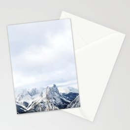 Looking out over the Rockies, in Banff Stationery Cards