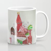 moscow Mugs featuring Moscow by Xenia Ericovna