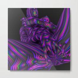 Lotus Flows Metal Print