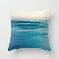 blues Throw Pillows featuring blues by Bonnie Jakobsen-Martin
