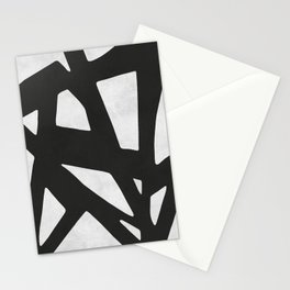 Black Expressionism IV Stationery Cards