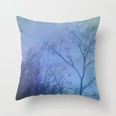 The Quiet of Winter Throw Pillow