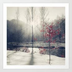 winter's rHapsody Art Print