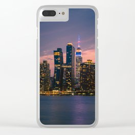 Empire State New York City Clear iPhone Case