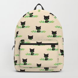 The Luckiest Cat Backpack