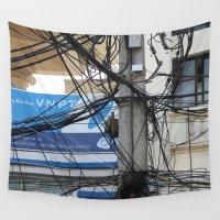 vietnam Wall Tapestries featuring Vietnam Telecom by Maria Faith Garcia