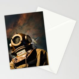 Cosmonaut Stationery Cards