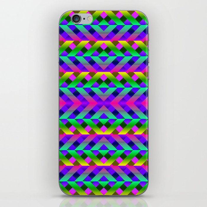 Rainbow Scaffolding iPhone Skin