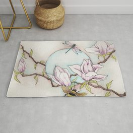 Keepers of the Magnolias Rug
