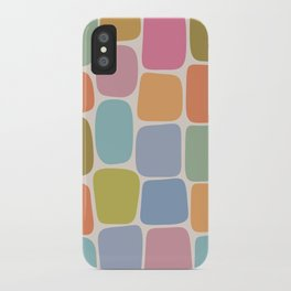 Minimal Blocks - Rainbow iPhone Case