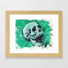 Gunga Skull 07 Framed Art Print