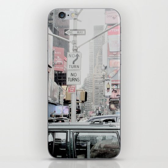 NEW YORK 2 iPhone & iPod Skin
