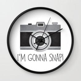 I'm Gonna Snap! Wall Clock