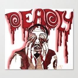 Deadly Canvas Print