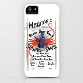 Miskatonic Elder Gods Gala iPhone Case