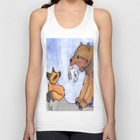 gift card Tank Tops featuring Gift by Sparki Wolf