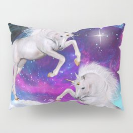 space unicorns v Pillow Sham