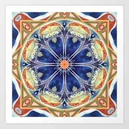 Mandalas of Forgiveness & Release 8 Art Print