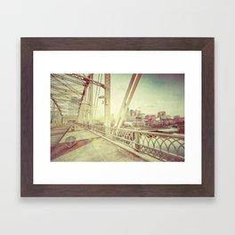 Nashville Framed Art Print